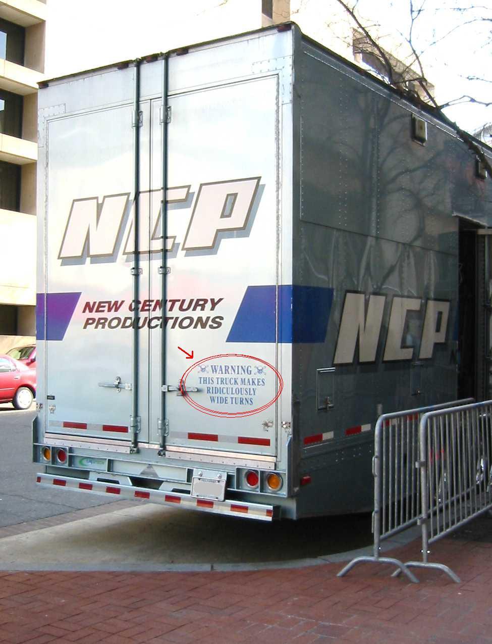 Movie truck