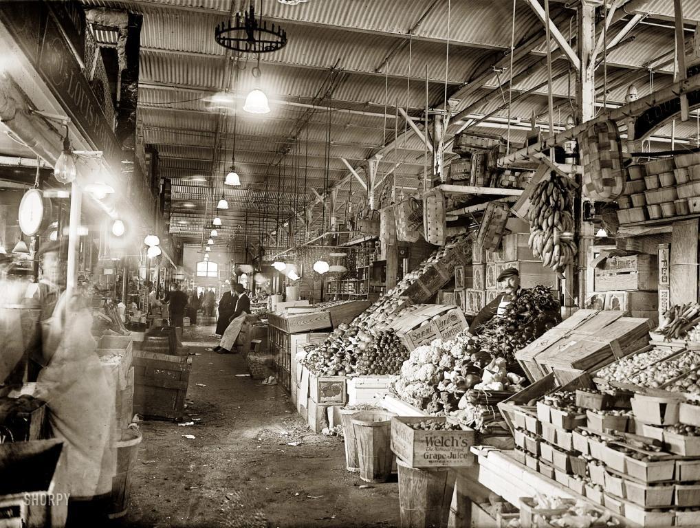 Central Market - 1922