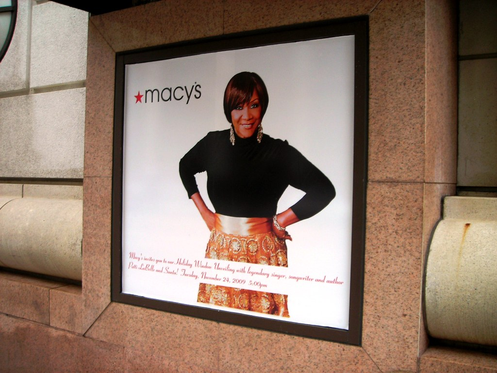 Macys Holiday Window Unveiling - Labelle