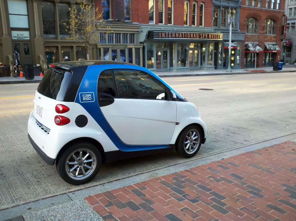 Car2go Spotted On F Street And 7th Street And Penn Quarter Living