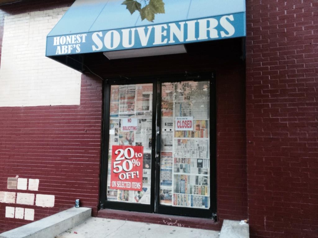 1000 f st nw washington dc souvenir store closed