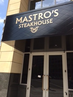 mastros steakhouse dc 13th f street penn quarter downtown