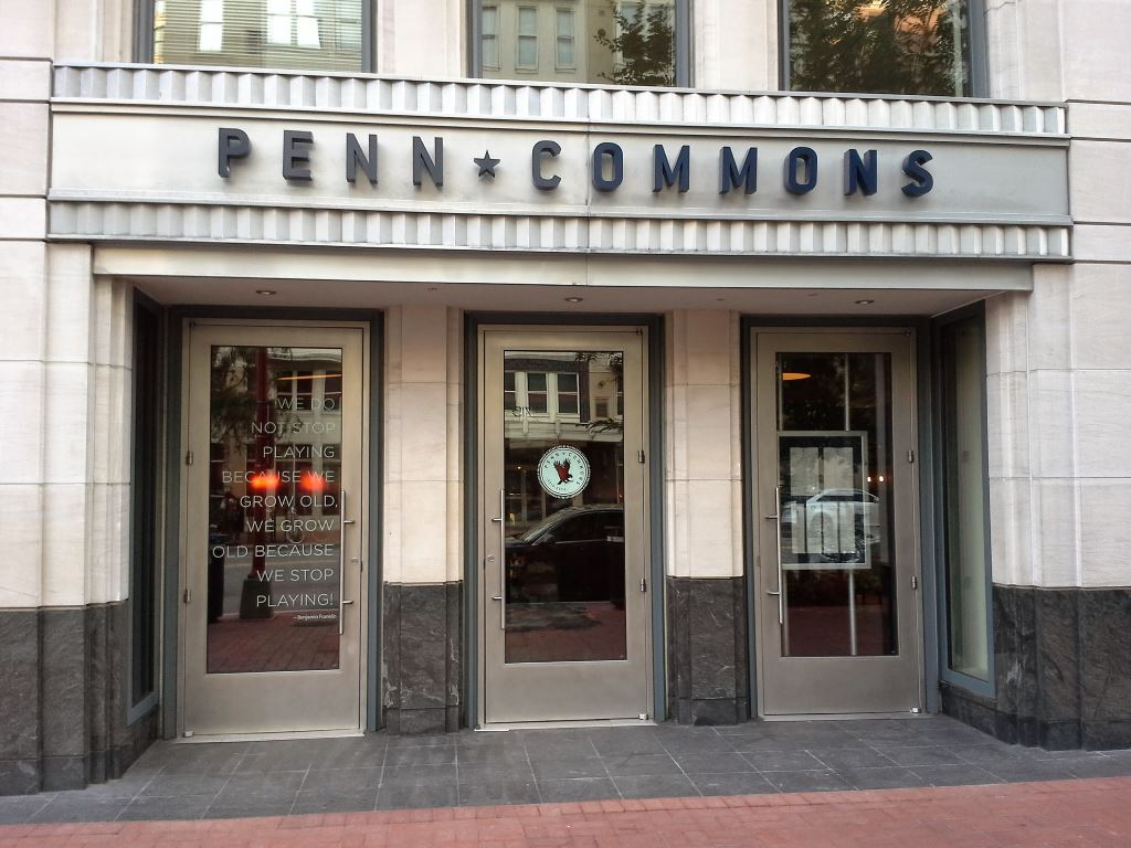 penn commons dc 700 6th st nw washington dc restaurant tavern penn quarter