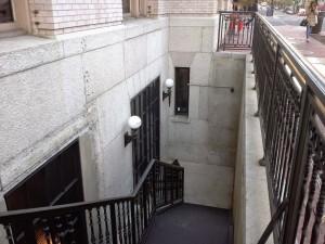 denson liquor bar washington dc stairs