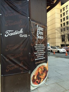 tadich grill washington dc entrance pre-opening