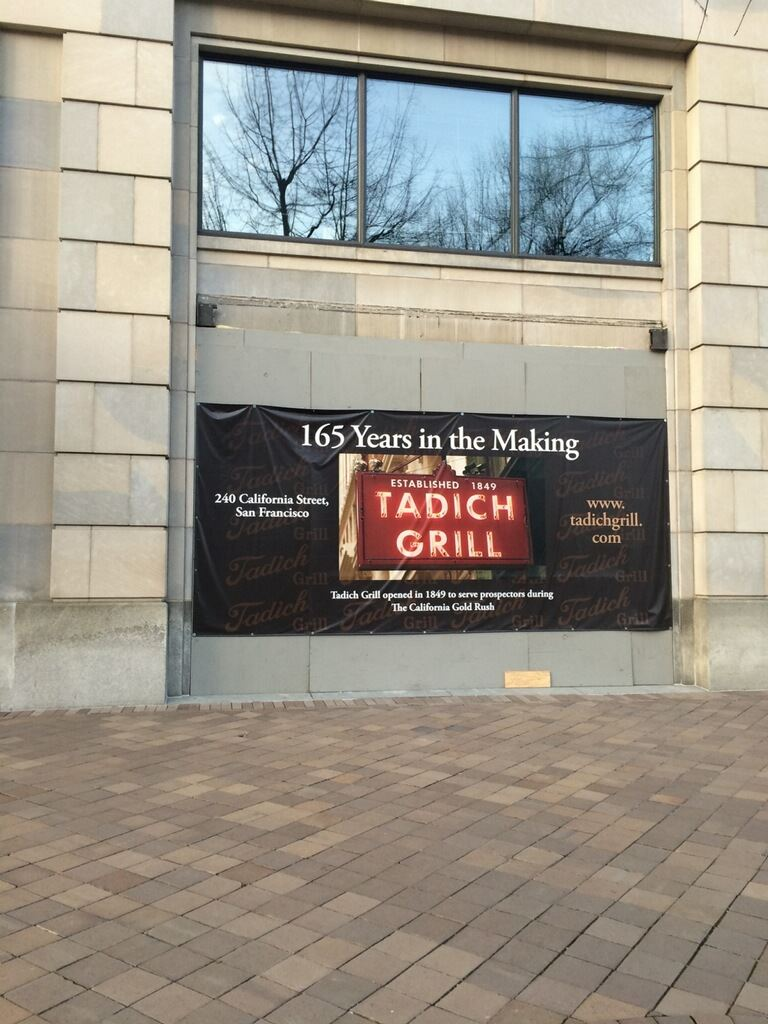 tadich grill washington dc pennsylvania ave pre-opening