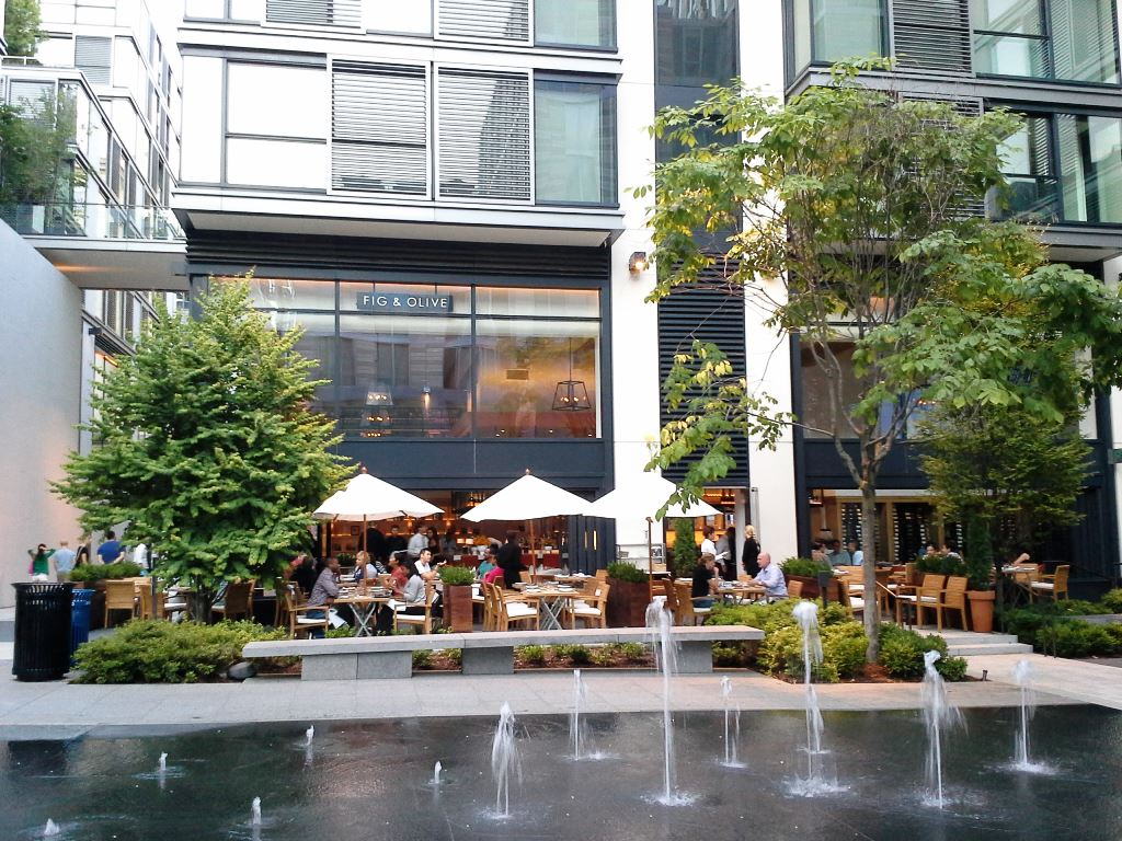 fig and olive restaurant washington dc city center downtown