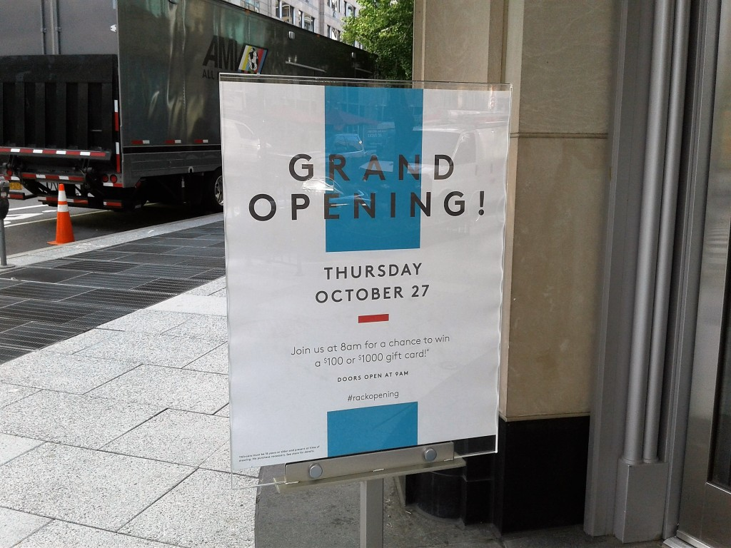 06f5fb3b9a4 Downtown DC Nordstrom Rack Opens On October 27 (12th and E St NW ...