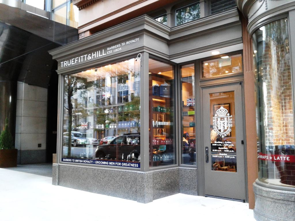 Truefitt & Hill Barbers Now Open (11th and F St NW) Penn Quarter ...