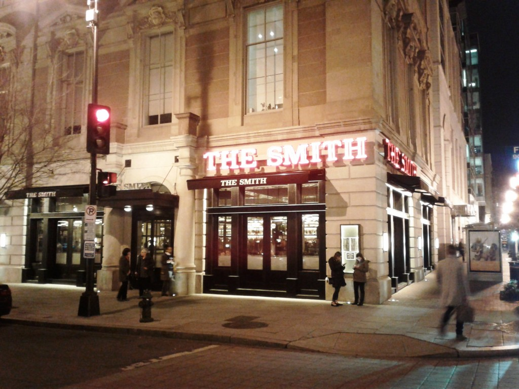 the smith washington dc restaurant exterior
