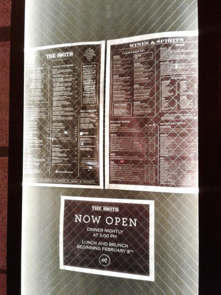 the smith washington dc restaurant menu
