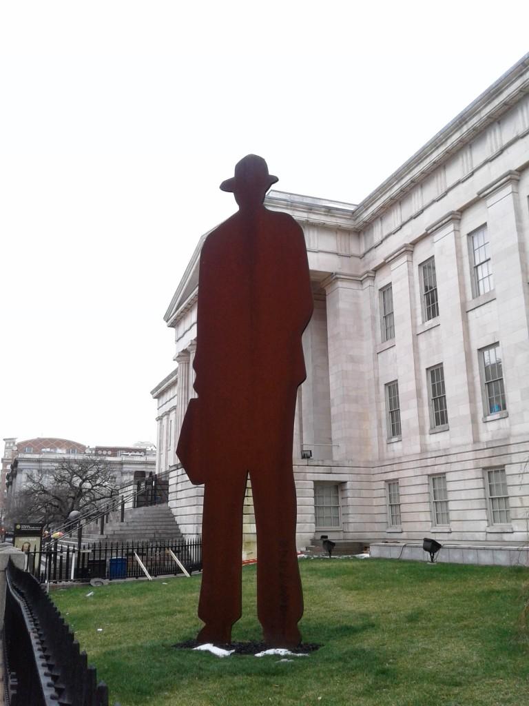 man with a briefcase borofsky jonathan washington dc national portrait gallery