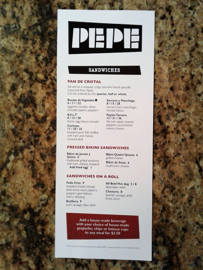 think food lab jose andres menu front restaurant washington dc 701 pennsylvania ave nw