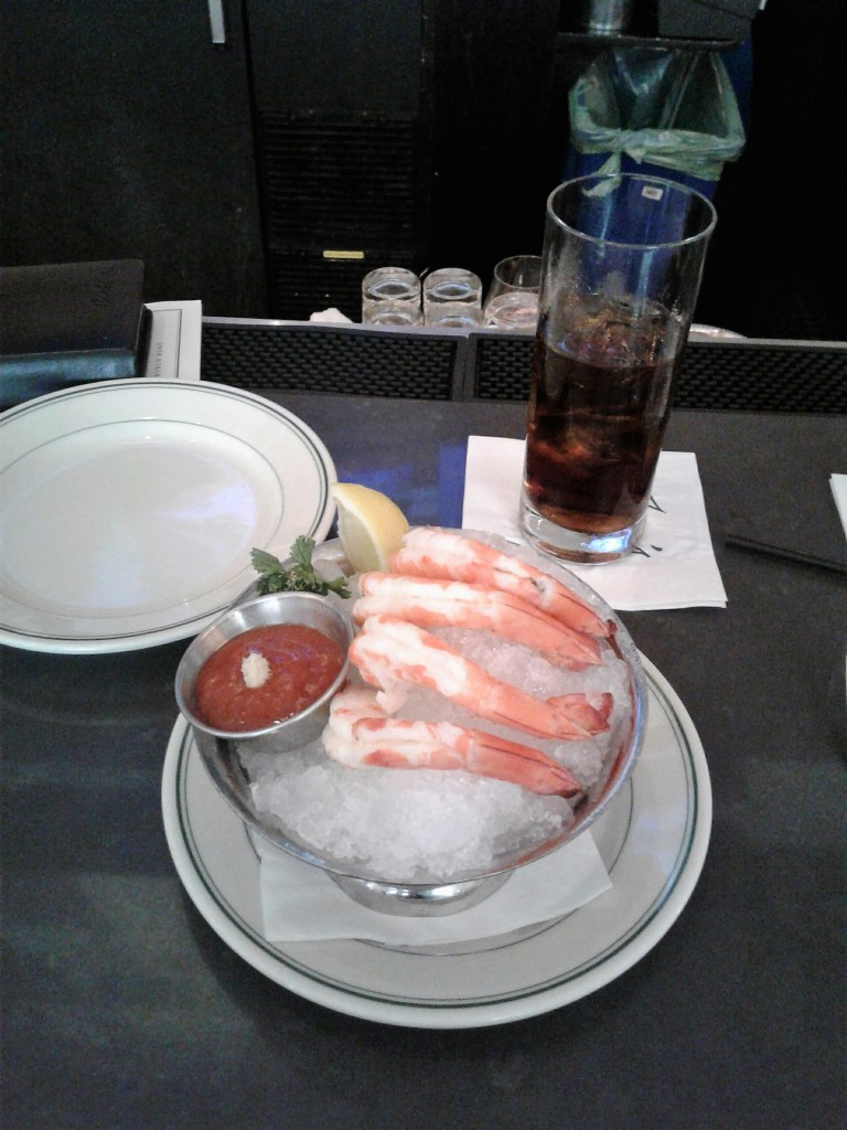 joes washington dc 15th street downtown restaurant shrimp cocktail