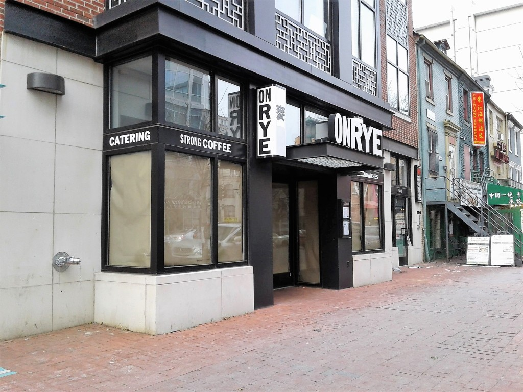 on rye chinatown washington dc closed