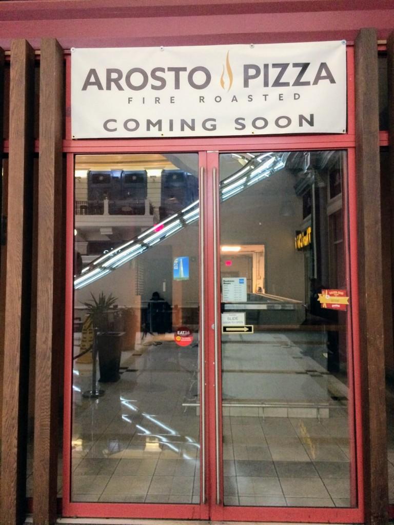 arosto pizza gallery place washington dc penn quarter
