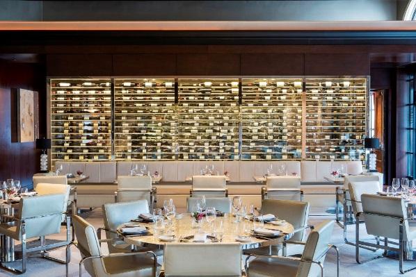 St Regis Downtown DC Restaurant Alhambra Interior