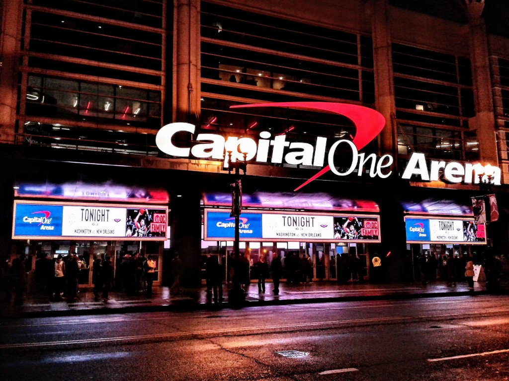 capital one arena marquee washington dc