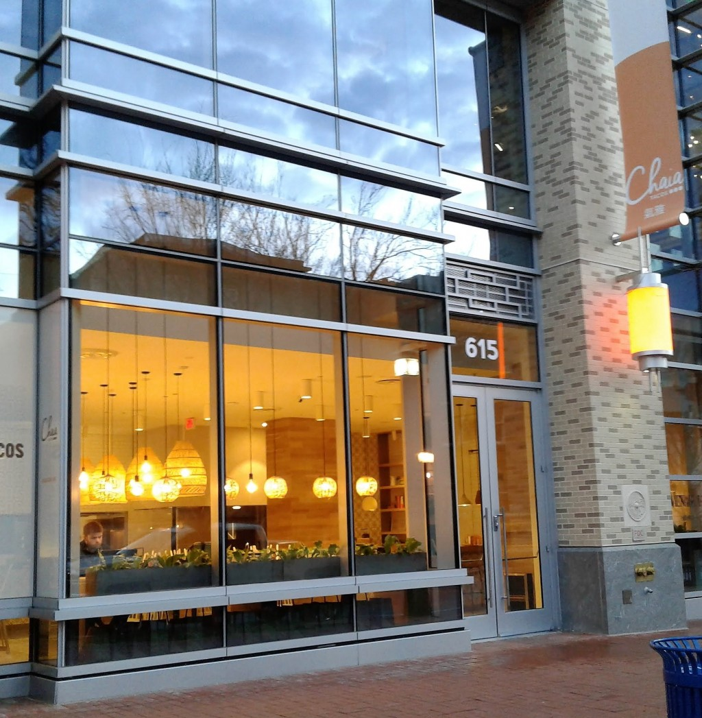 chaia tacos washington dc 615 i st nw chinatown mount vernon triangle restaurant
