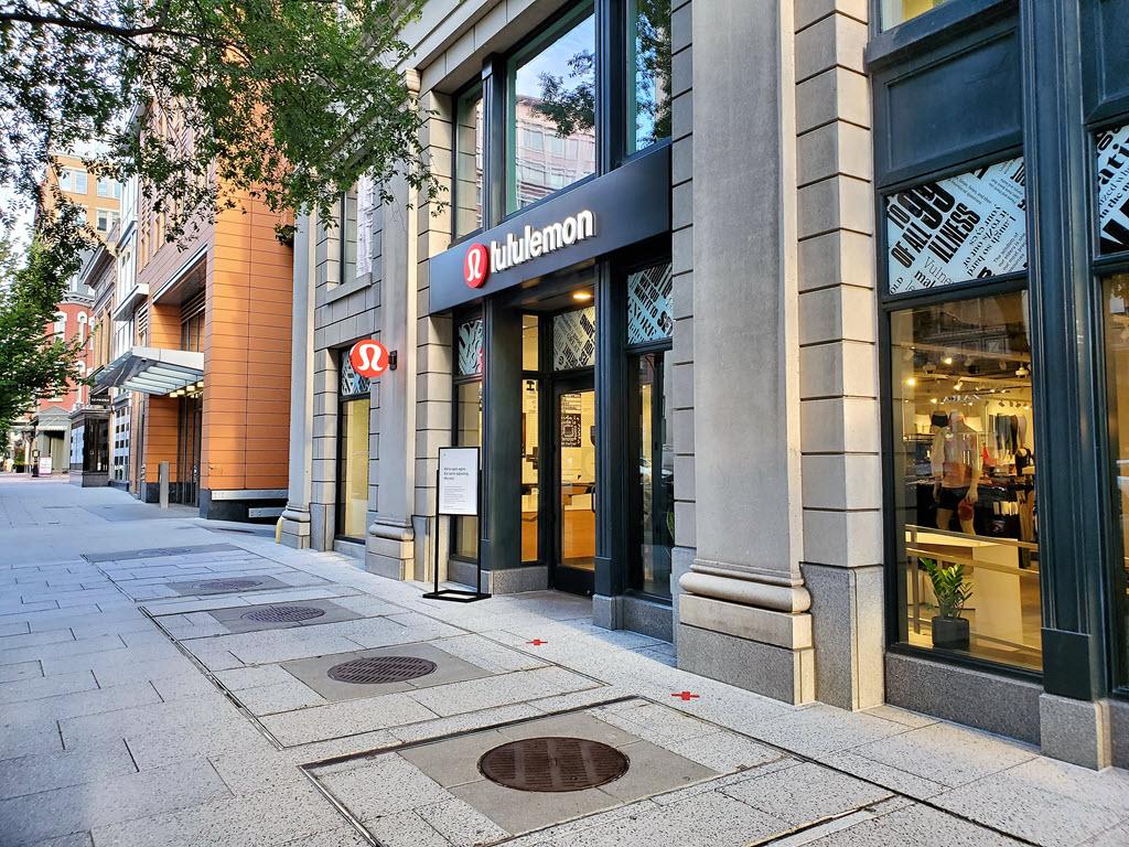 lululemon open at 1090 f street nw washington dc