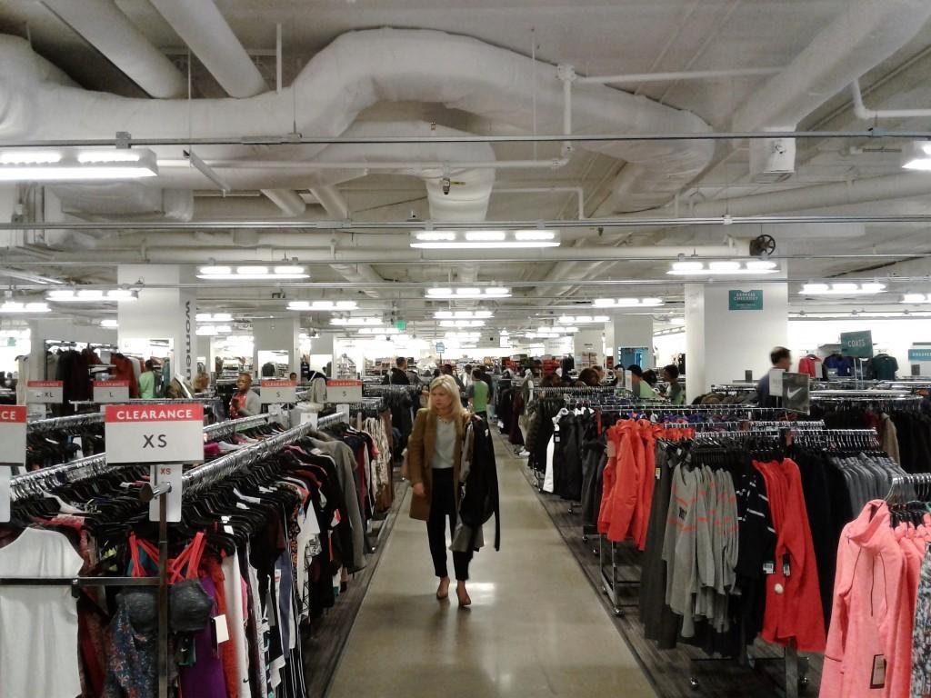 Nordstrom Rack Washington Dc Penn Quarter Downtown Retail